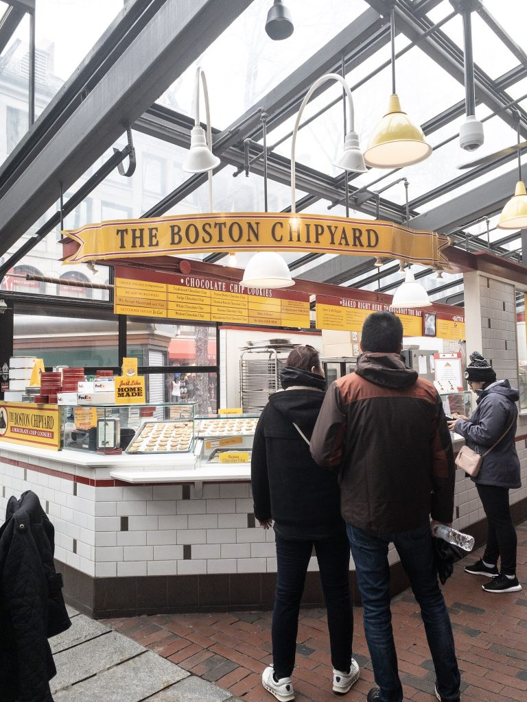 A foodie weekend in Boston